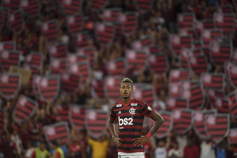 O Flamengo, do atacante Bruno Henrique, pode ser eliminado da Libertadores ainda na fase de grupos