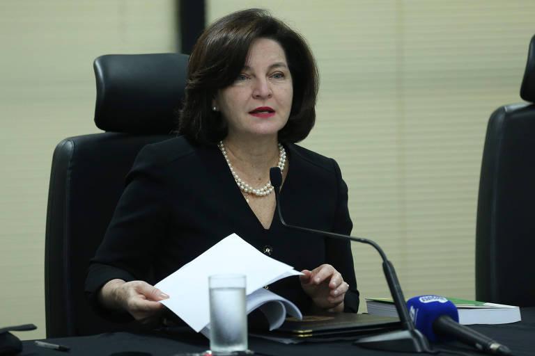 A procuradora-geral da República, Raquel Dodge, cujo mandato termina em setembro