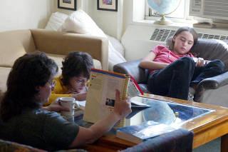 Penny Kjellberg, who home-schools her children