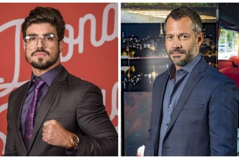 Malvino Salvador comenta relacionamento gay com Caio Castro em novela: 'Estou aberto a tudo'