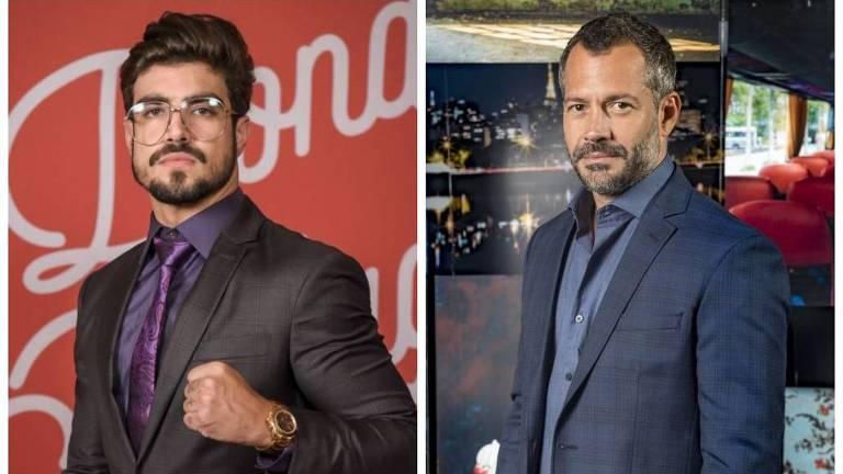 """Caio Castro e Malvino Salvador têm relacionamento gay em """"A Dona do Pedaço"""""""