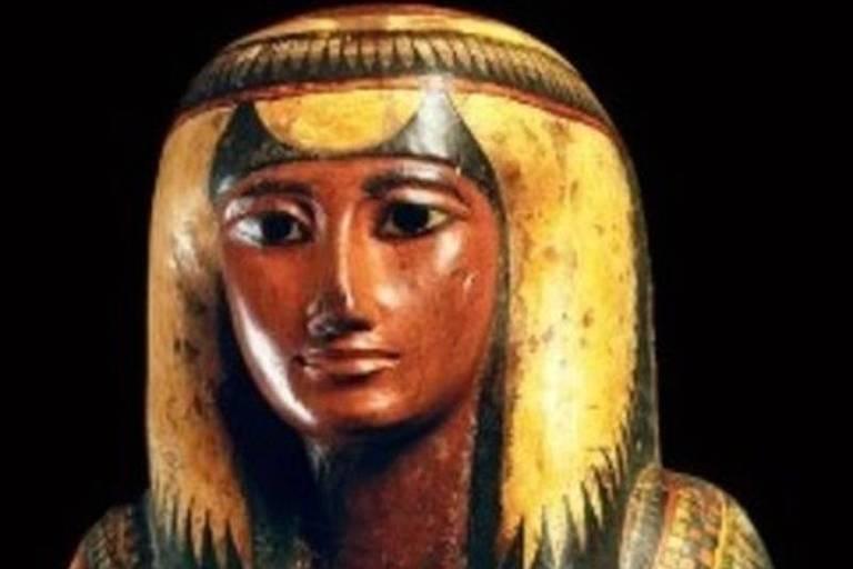 Museu Nacional resgata partes de múmia egípcia que nunca havia sido aberta