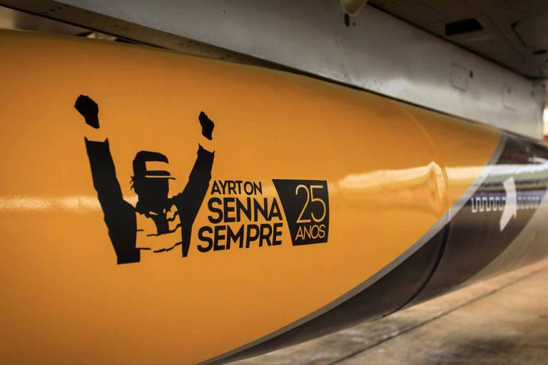 Força Aérea Brasileira homenageia Senna