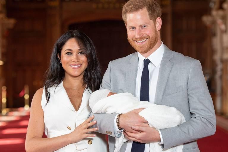 Nasce filho de Meghan e Harry
