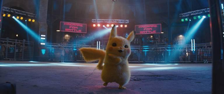 Pokémon de 'Detetive Pikachu'