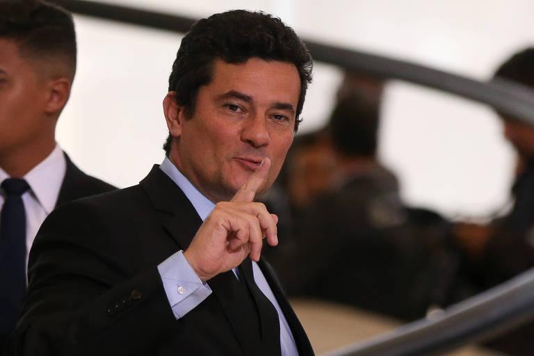 O ministro Sergio Moro, que tenta manter o Coaf sob controle do Ministério da Justiça