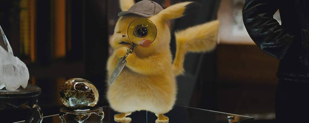 Cena de 'Pokémon: Detetive Pikachu'