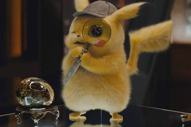 "Cena de ""Pokémon: Detetive Pikachu"""