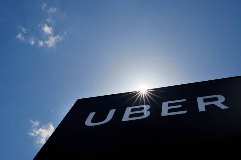 Logomarca da Uber