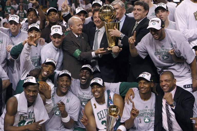 Maiores vencedores da NBA