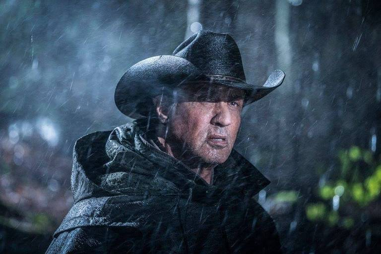 Sylvester Stallone em cena de 'Rambo 5'