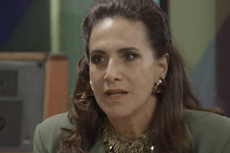 """Mercedes é a personagem vivida pela atriz Totia Meireles em """"Verão 90"""""""