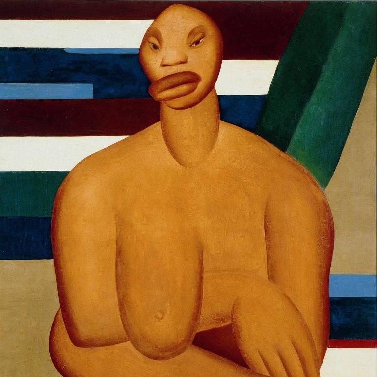 'A Negra', obra de Tarsila do Amaral