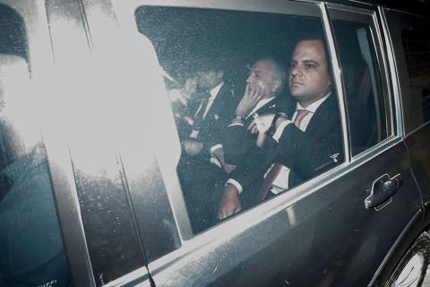 SÃO PAULO, SP, 09.05.2019: - MICHEL-TEMER-PRISÃO - O ex-presidente Michel Temer deixa o prédio do IML Central, em São Paulo, após realizar exame de corpo de delito; (Foto: Marcelo Chello/Folhapress)