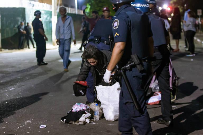 Fluxo é retomado na rua Helvétia após ação policial
