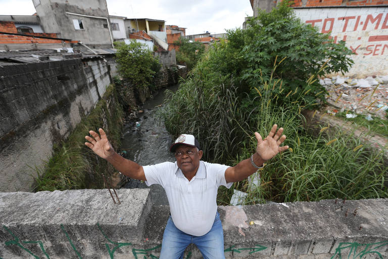 Moradores vivem no limite das cidades da Grande São Paulo
