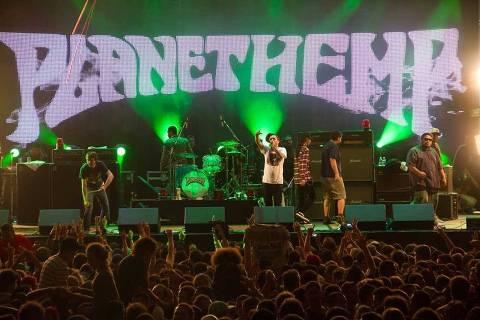 Show em SP dia 14 de novembro de 2012 do Planet Hemp