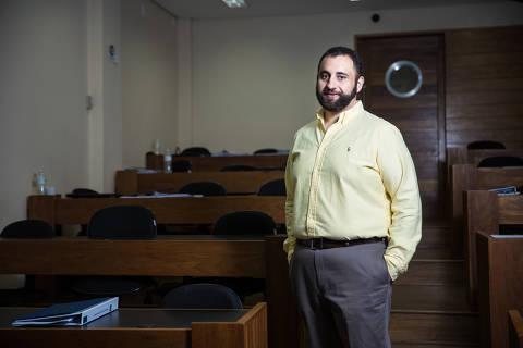 São Paulo, SP, Brasil, 07-05-2019: Tadeu da Ponte, 40, coordenador de processos seletivos do INSPER. (Foto: Alberto Rocha/Folhapress)