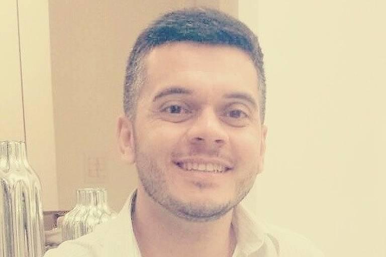 O professor universitário Gleidson Monteiro dos Santos