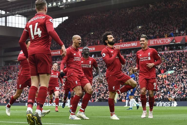 Com 94 pontos, o vice-líder Liverpool chega à rodada decisiva com campanha de campeão