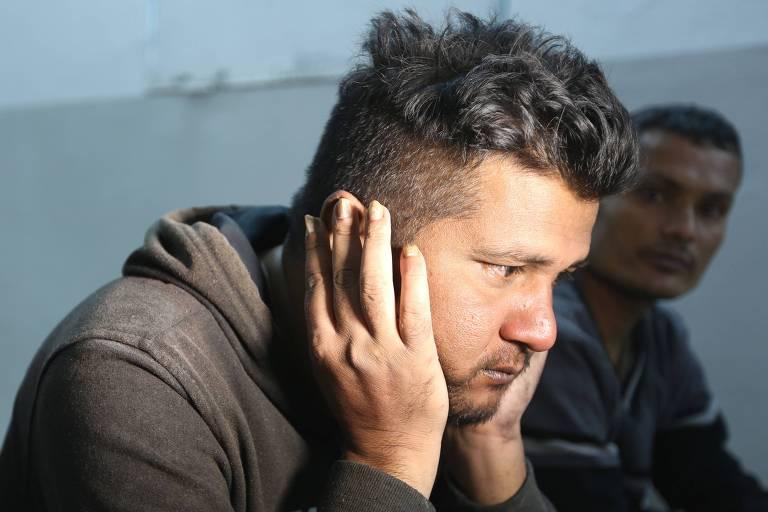 Sobrevivente de embarcação com imigrantes que naufragou, matando ao menos 70 pessoas