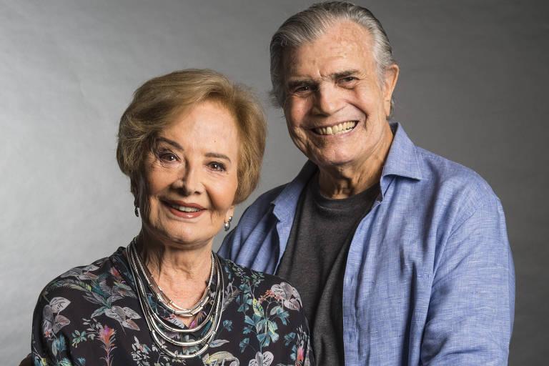 Tarcísio Meira e Glória Menezes estarão juntos em entrevista ao programa 'Persona em Foco'