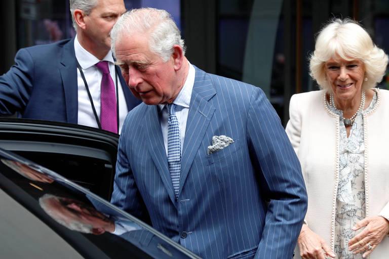 Príncipe Charles e Camilla, duquesa da Cornualha, em Berlim (Alemanha)