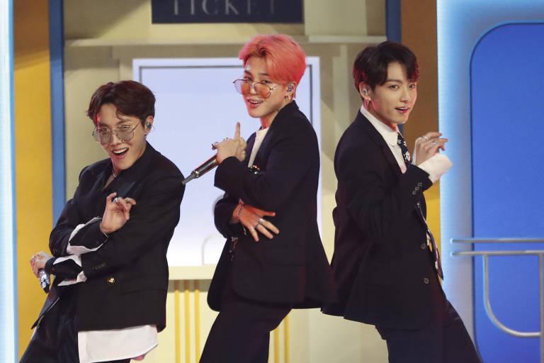BTS se apresenta no 2019 Billboard Music Awards