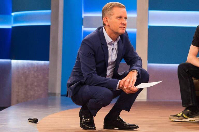 Foto do apresentador de televisão inglês, Jeremy Kyle
