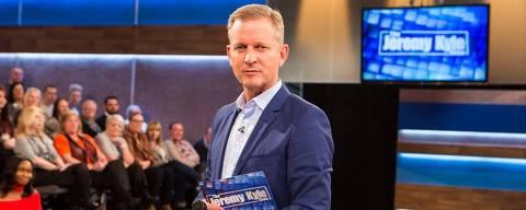 Foto do apresentador de televisão inglês, Jeremy Kyle .  Credito:Divulgação
