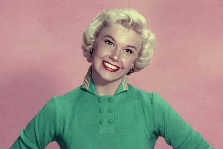 A atriz e cantora Doris Day