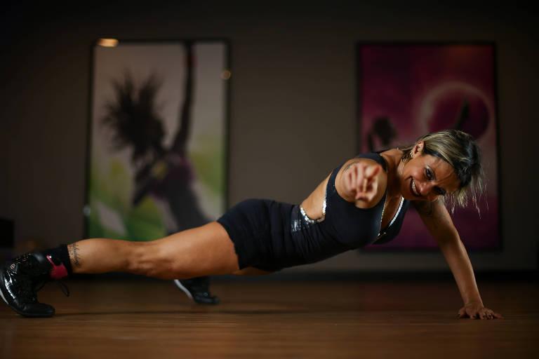 Fisiculturista Carla Lobo