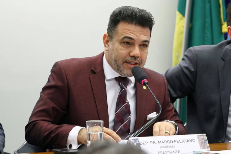 O deputado federal Pastor Marco Feliciano (Pode-SP), interlocutor do presidente Jair Bolsonaro (PSL) no Congresso