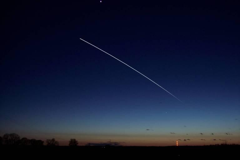 Estação Espacial Internacional pode ser vista a olho nu no céu