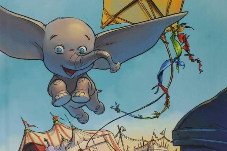 'Dumbo' vira personagem de história em quadrinhos em adaptação do filme de Tim Burton