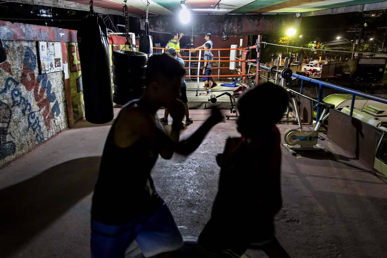 Boxe na periferia de São Paulo