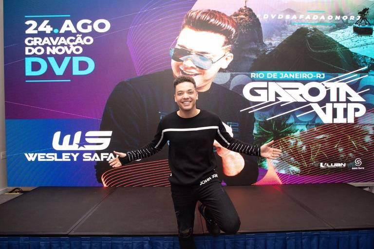 Wesley Safadão anuncia gravação de DVD no Rio