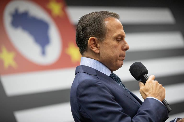 O governador de São Paulo, João Doria (PSDB), que quer reduzir o número de estatais paulistas