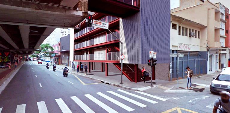 Os acessos se darão em oito pontos, como a esquina da av. Amaral Gurgel com r. General Jardim; em alguns casos, serão construções com elevador e escada, garantindo a acessibilidade, mas também o controle