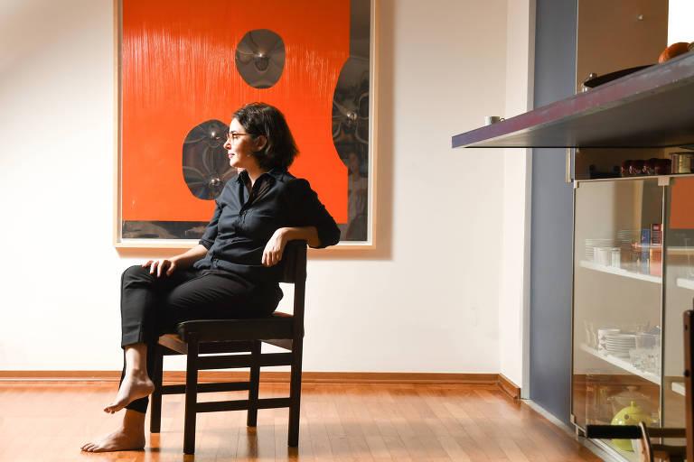 A curadora da Flip 2019, Fernanda Diamant