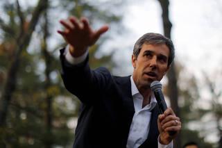 Democratic 2020 U.S. presidential candidate O?Rourke speaks in Salem