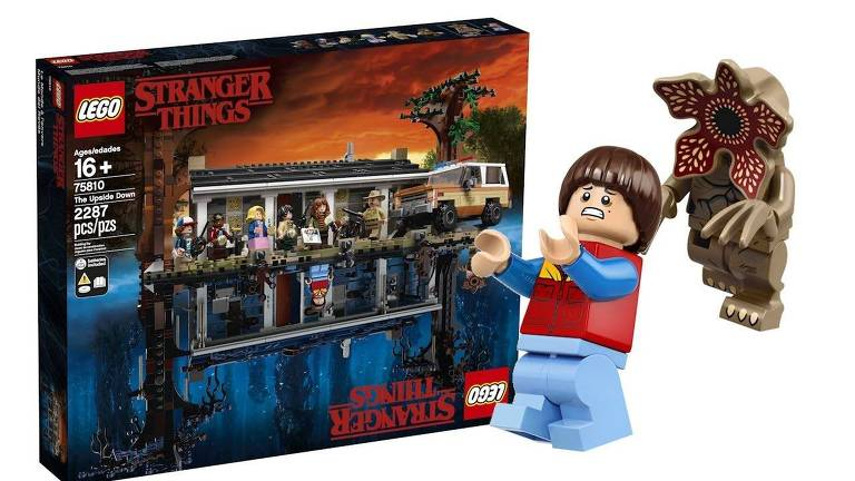 Brinquedo Lego de Stranger Things