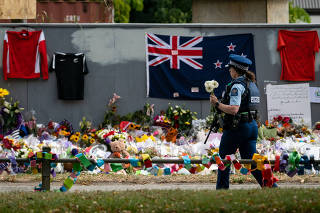 NEW ZEALAND-CHRISTCHURCH TERRORIST ATTACKS-MOURNING