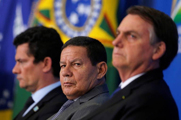 Veja em 30 fotos os seis primeiros meses de Bolsonaro