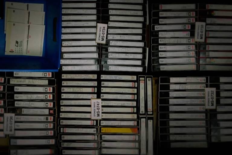 O arquivo de Marion conta com 70 mil fitas VHS