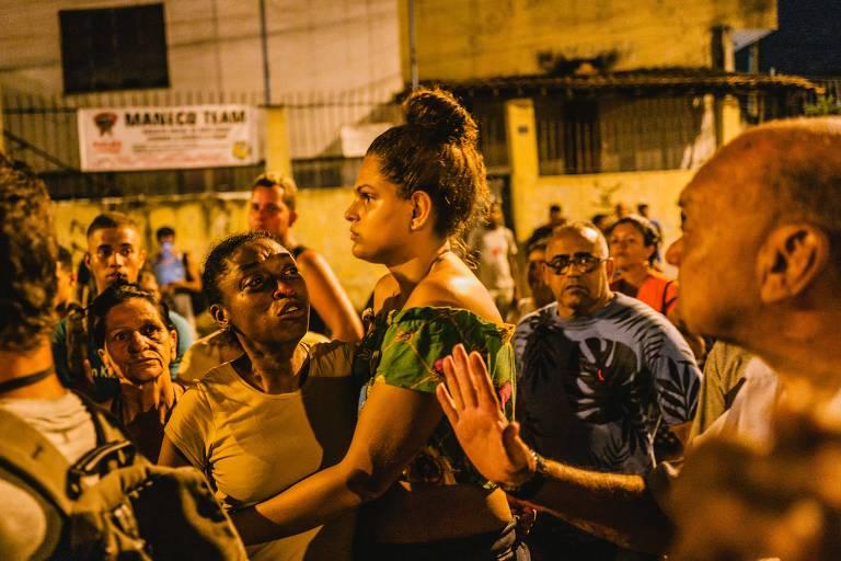Protesto contra morte de professor de jiu-jitsu no RJ