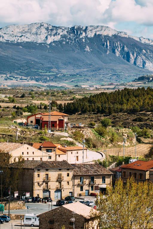 Cidade de Elciego, no País Basco