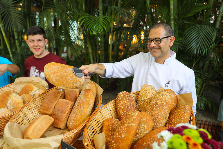 Chef pela Cura promove feira de pães no shopping JK Iguatemi