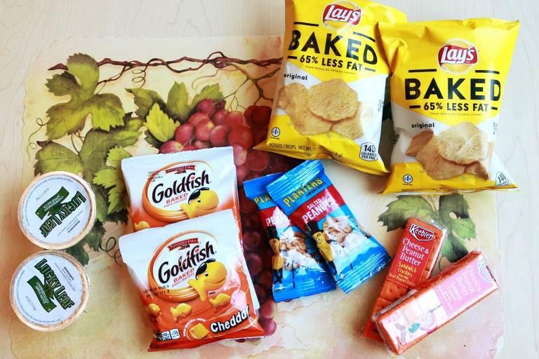Alimentação baseada em ultraprocessados e não processados