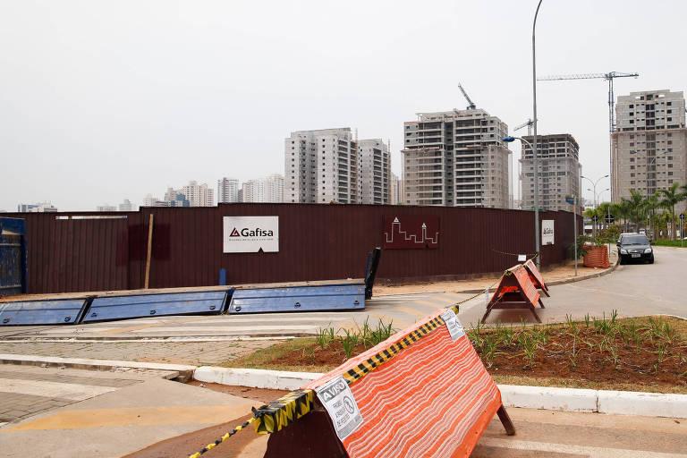 Início das obras de torres comerciais da Gafisa, em São Caetano do Sul